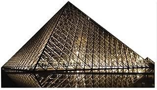 Wet Paint Printing + Design H13040 Pyramide du Louvre Cardboard Cutout Standup