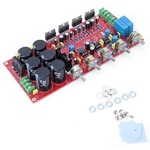 Placa amplificadora de potencia, TDA7294 2.1 Canal 2x80W + 160W Subwoofer HIFI Módulo amplificador de potencia