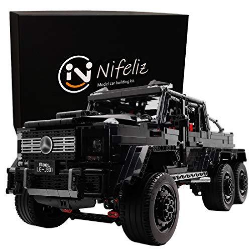Nifeliz Black Pickup G63 6x6 Moc Buildin Buy Online In Aruba At Desertcart