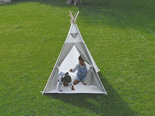 Little Adventures B0892K5N34 - Tienda Tipi Infantil Para Niños, 100% Algodón. Producto De Interior Y Exterior, unisex