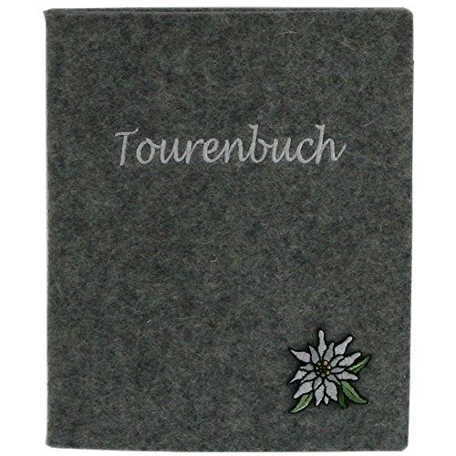 Tourenbuch Edelweiß grau