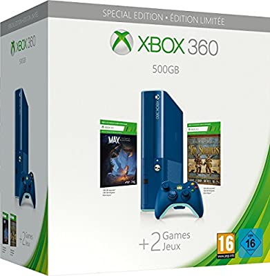 Xbox 360 500GB Limited Edition Blue Console