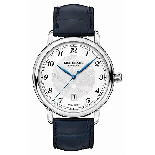 Montblanc Star Legacy Reloj de Hombre automático 42mm Color Azul 117575