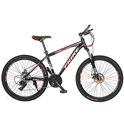 Bicicleta de montaña para adultos, ruedas de 26 pulgadas, bicicleta todoterreno de montaña, bicicleta plegable de acero al carbono