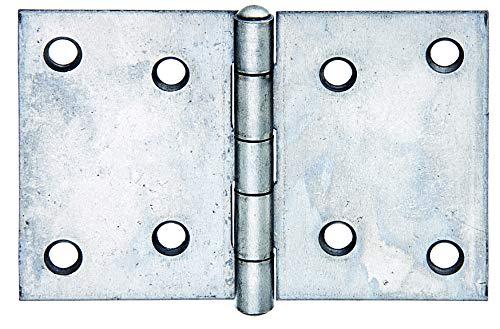 GAH-Alberts 361280 Scharnier | breit | Edelstahl | 60 x 90 mm