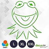 Decus Kermit The Frog L 2091 (grün) // Sticker OEM JDM Style Aufkleber