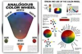 Hal Reed's Analogous Color Wheel, Dominant Hue & It's Complement, Harmony Wheel, Discord & Adjacent Hues, Value and Chroma (Lg Heavy Duty 8.5x12 construction)