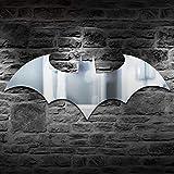 Led Wandleuchte Persönlichkeit USB Fernbedienung Batman Spiegel Licht Bunte Farbe Schrank Korridor Wohnzimmer Schlafzimmer Dekor (Splitter) DEjasnyfall