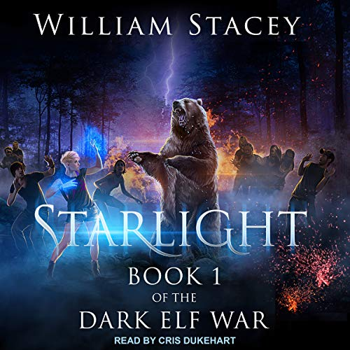 Starlight     The Dark Elf War, Book 1              By:                                                                                                                                 William Stacey                               Narrated by:                                                                                                                                 Cris Dukehart                      Length: 14 hrs and 58 mins     36 ratings     Overall 4.1