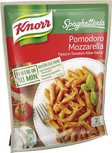 Knorr Spaghetteria Pomodoro Mozzarella Nudel-Fertiggericht 2 Portionen (1 x 163 g)