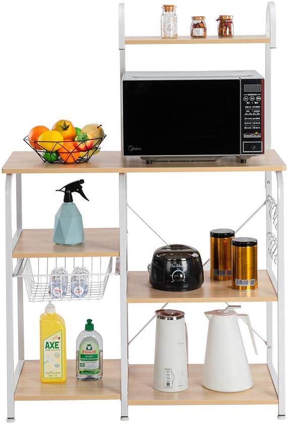 MTFY Kitchen Baker's Sale San Francisco Mall Special Price Rack 4-Tier Utility with Shelf Storage Sli