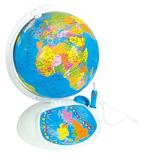 ¡Explora el Mundo! 61302 de ClementoniEl Globo terráqueo Juguete Interactivo.