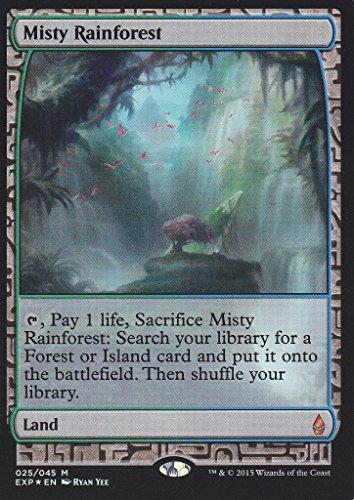 Magic The Gathering - Misty Rainforest (220) - Expedition Lands - Foil
