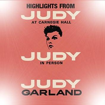 Highlights From Judy At Carnegie Hall