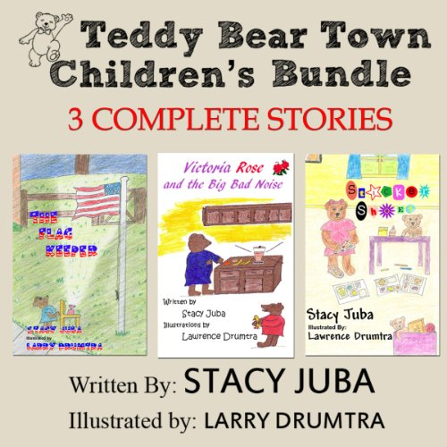 Teddy Bear Town Children's Bundle audiobook cover art