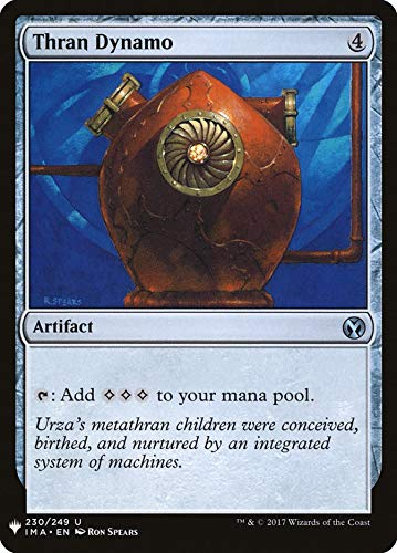 Magic: The Gathering - Thran Dynamo - Mystery Booster - Iconic Masters