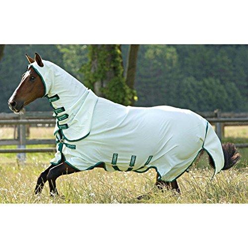 Horseware Ekzemerdecke Rambo Pony Sweetitch Hoody - Ice-Green/Green, Groesse:95