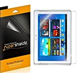 (3 Pack) Supershieldz for Samsung Galaxy Note 10.1 inch Screen Protector, High Definition Clear Shield (PET)