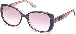 جيس GU7554 نظارة شمسية مربعة للنساء + عدة نظارات مجانية