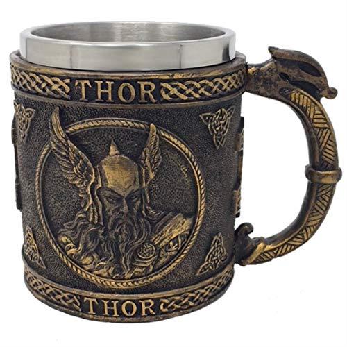 Unbekannt Krug nordischer Gott Thor - Kelch, Met, Götter