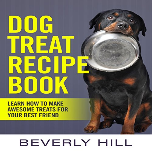 Dog Treat Recipe Book audiobook cover art