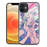 Funda para iPhone 7 8 Plus, diseño gráfico de chica Jolyne Cujoh rosa para niños y niñas, diseño gráfico HD a prueba de golpes, antideslizante, 00458