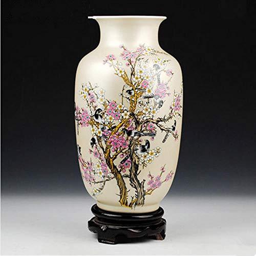 Ethan Jingdezhen keramische grote vaas Chinese stijl gouden Magpie pruim grote woonkamer meubels artikelen huisdecoratie