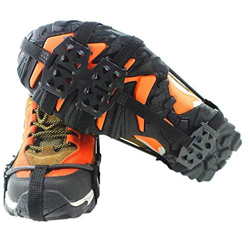 professionnel comparateur KOBWA Outdoor Ice Snow Grip pour bottes chaussures, 24 dents antidérapantes en acier inoxydable… choix