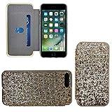 GUPi Funda para iPhone 7 Plus/8 Plus brillante 3 Libro de oro brillante – iPhone 7 Plus, iPhone 8 Plus