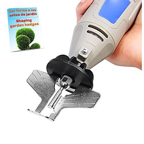 Pineocus Kettensägen schärfgerät zubehörkopf für schlagbohrmaschine Mini multifunktionswerkzeug Kit kettensäge schärfen Zahnschärfer Kettensägenschärfer Kettensägeschärfgerät