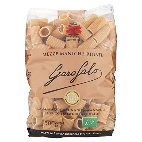 Special BOX - Pasta Integrale Biologica - MEZZE MANICHE RIGATE 5-32 (1Kg) + PAPPARDELLE 5-13 (1Kg)