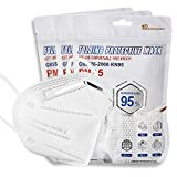 KN95 Disposable Face Mask, 30 Pack White 5-Ply Protection Breathable Cup Dust Masks, Protection Against PM2.5 Dust. Pollen and Haze-Proof with Elastic Earloop and Nose Bridge Clip K-N95 Masks