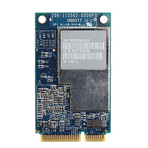 Tjian 2.4G+5G 270M Wifi Mini Tarjeta Mini PCI-E Inalámbrica Para Apple Macbook BCM94321MC 661-3874
