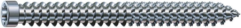 SPaX RA Anchors TORX30 dübellose Cylinder Head Screws Galvanised Pack of 100, 7.5 x 150 MM 1031010751505