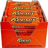 24 Packungen a 39,5g Reese´s Peanut Butter Cups Hersey Company Erdnussbutter mit kakaohaltiger Glasur