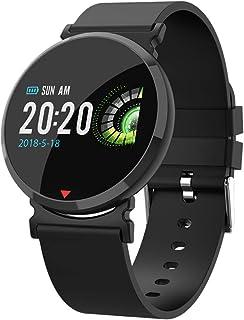 Desconocido E28 Reloj Inteligente para Hombre con Monitor de frecuencia cardíaca, podómetro, calorías, Deportivo, Pulsera Digital, Resistente al Agua, Reloj Inteligente para Hombre