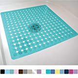 Gorilla Grip Original Patented Bath, Shower, and Tub Mat, 21x21, Machine Washable, Antibacterial,...