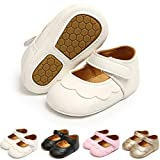 Tuoting Baby Girl Shoes Baby Princess Dress Shoes Soft Sole Toddler Ballet Flats Baby Walking Shoes