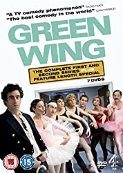 Green Wing on DVD