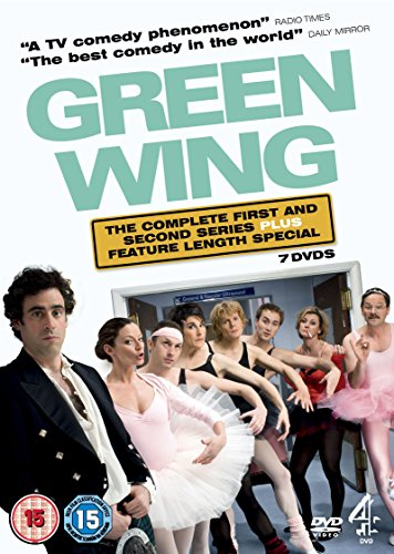 Green Wing - Series 1-2 Plus Special (Pal Non USA Format)