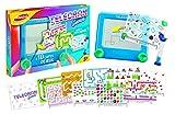 Joustra Ardoise Magique TELECRAN Games avec 10 Cartes de Jeu pour Enfants dès 5 Ans-Format de...