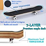 Zoom IMG-2 yudoxn completo skateboard per principianti