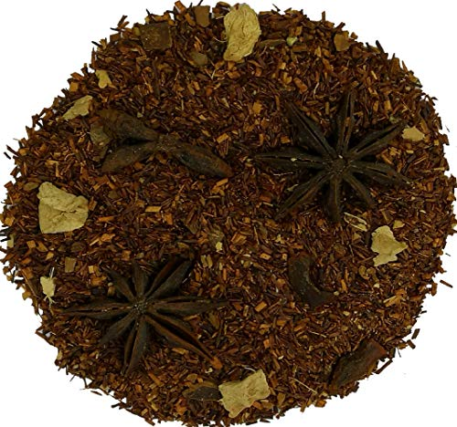 Cinnamon Rooibos Chai Caffeine-Free Loose Leaf Tea by Simpli-Special for Hot or Iced Tea (500g in Resealable Pouch)