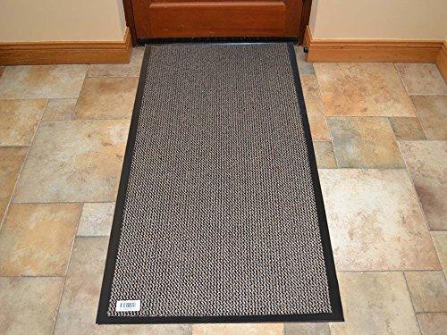 FB FunkyBuys, tappetino antiscivolo per porte, cucina, corridoio, camera da letto, bagno, bagno, con retro in gomma, resistente, lavabile, pieghevole, colore vivace