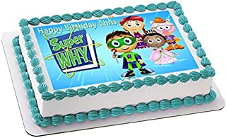 SUPER WHY (Nr3) - Edible Cake Topper - 7.5