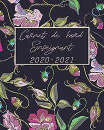 Carnet de bord enseignant 2020 2021: Bullet journa