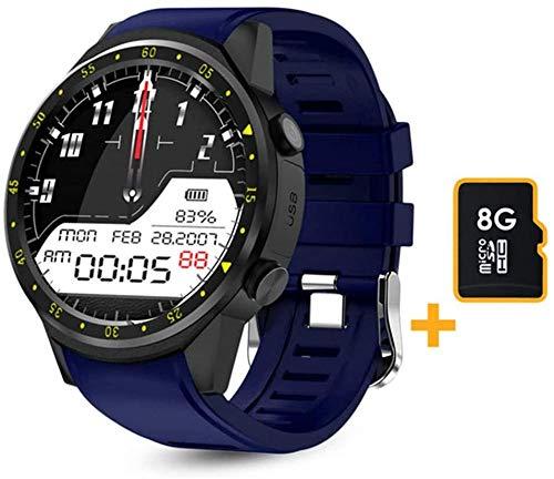 GPS Smart Watch Herren SIM-Karte Kamera F1 Smartwatches Herzfrequenzerkennung Sporttelefon verbunden Android Ios Clock ansehen-B.