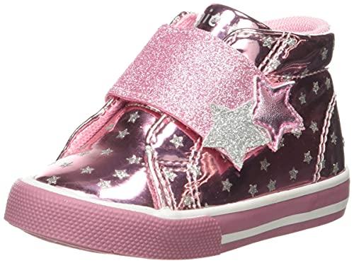 Chicco Polacchino Geralda, Zapatos para BEB Niñas, Rosa, 18 EU
