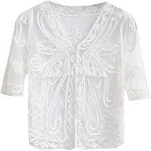 Byyong Women's Shawl 1920s Flapper Cover Ups Sequin Cape Evening Wrap