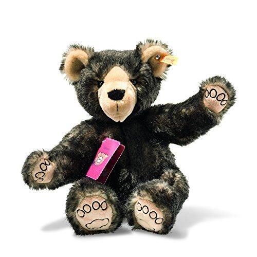 Steiff 22135 Teddyb.Tom Weltenbummler, Dunkelbraun Gespitzt